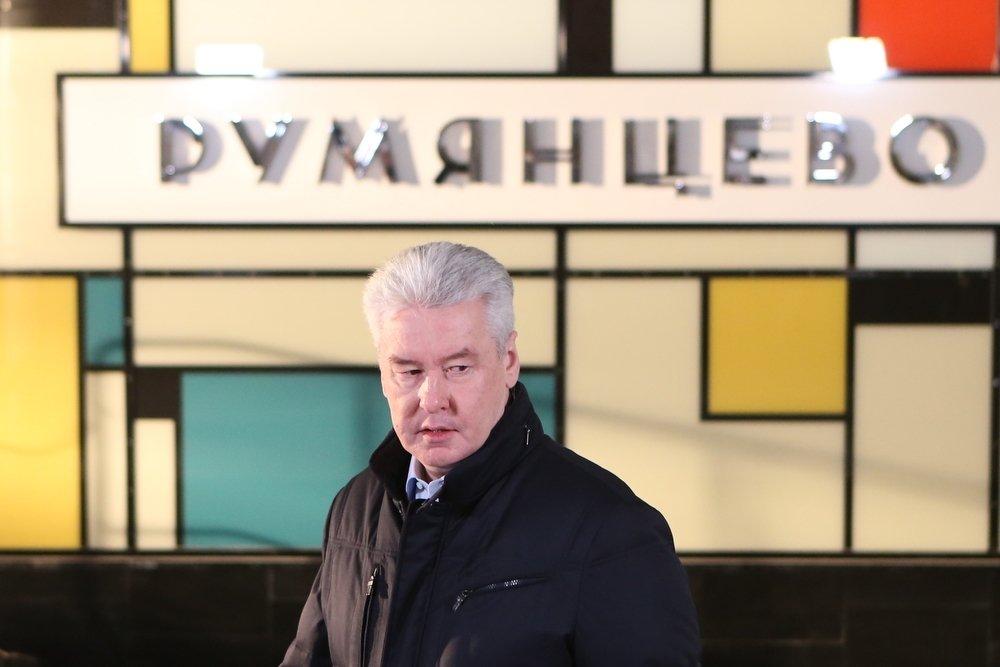 Сергей Собянин запустил станцию метро