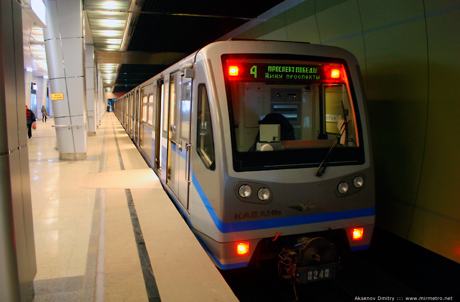 метрополитена представлен