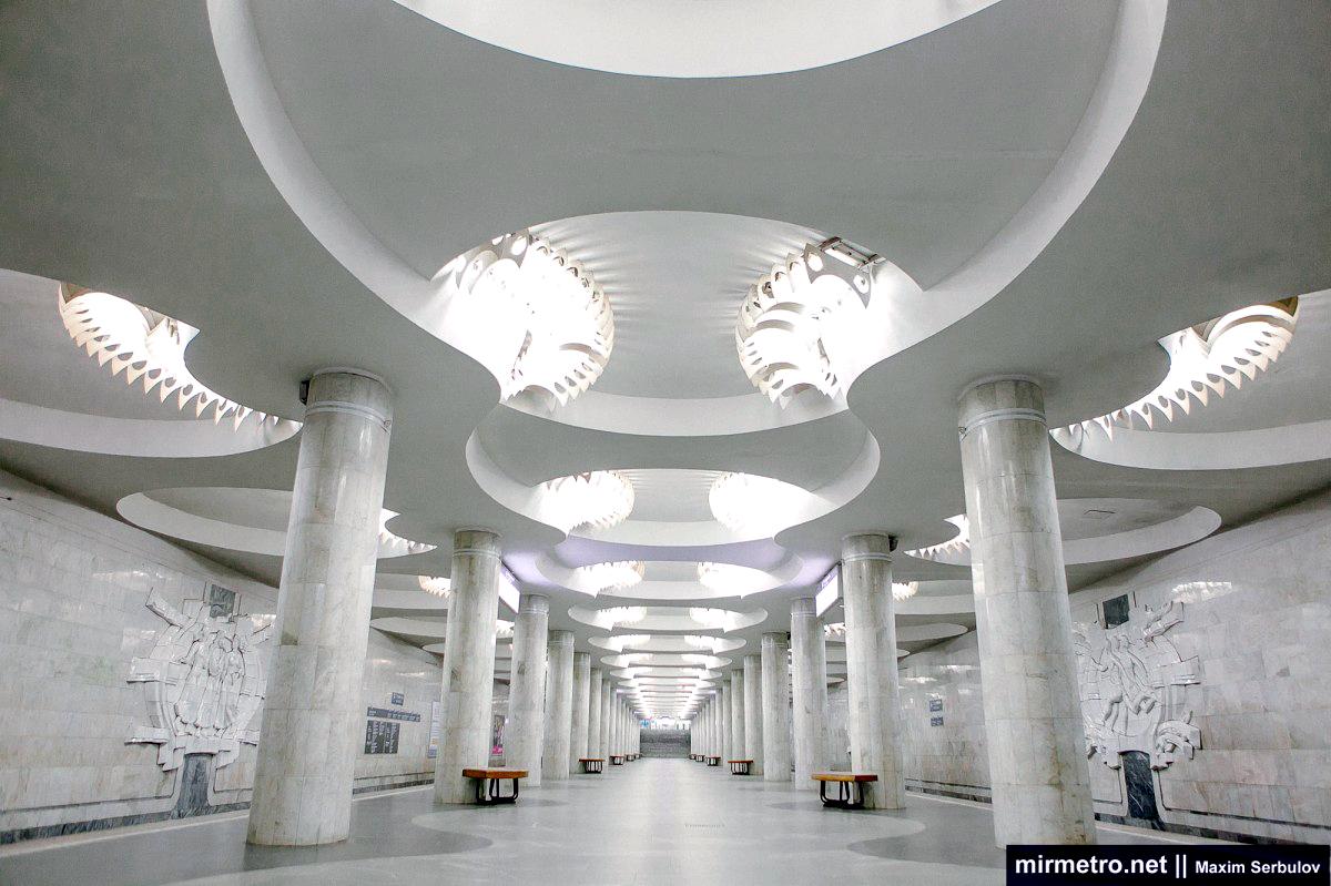 станция метро студенческая харьков барельефы