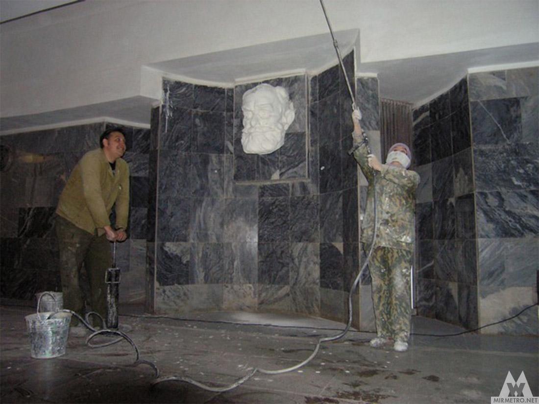 вестибюль метро академика павлова