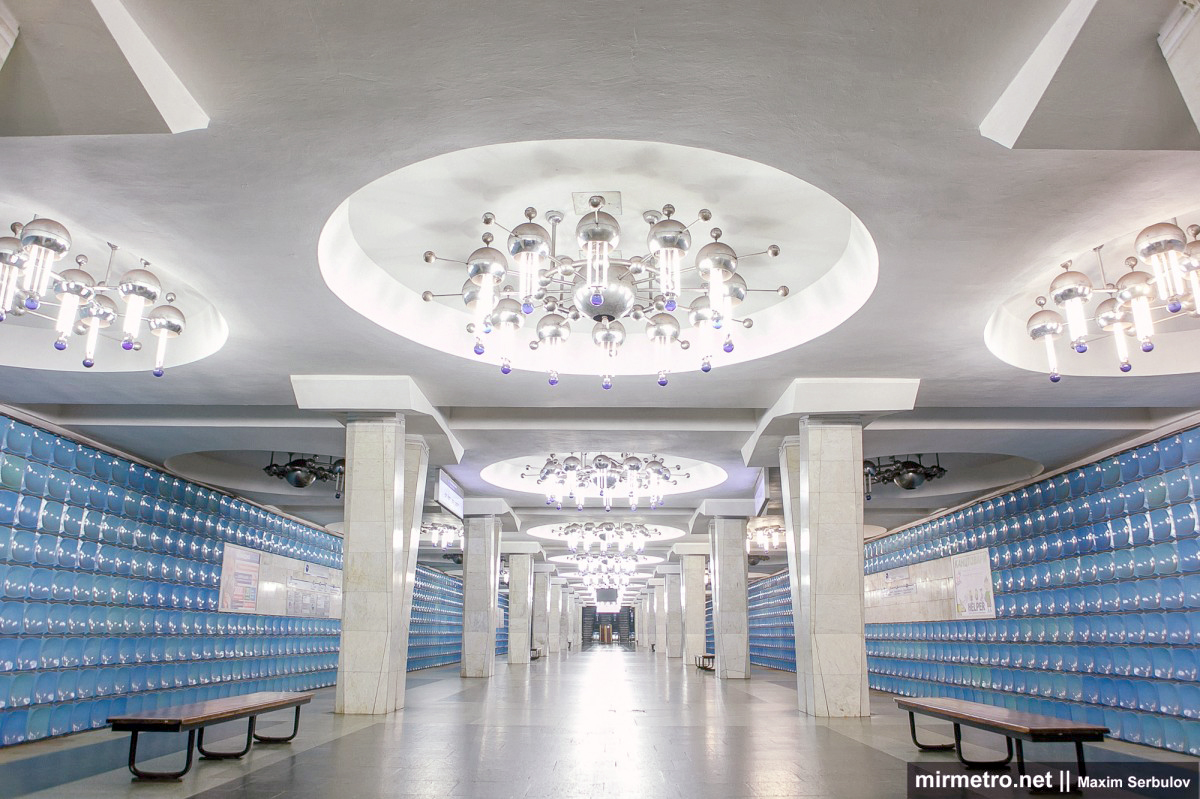 эскалатор станции метро академика барабашова