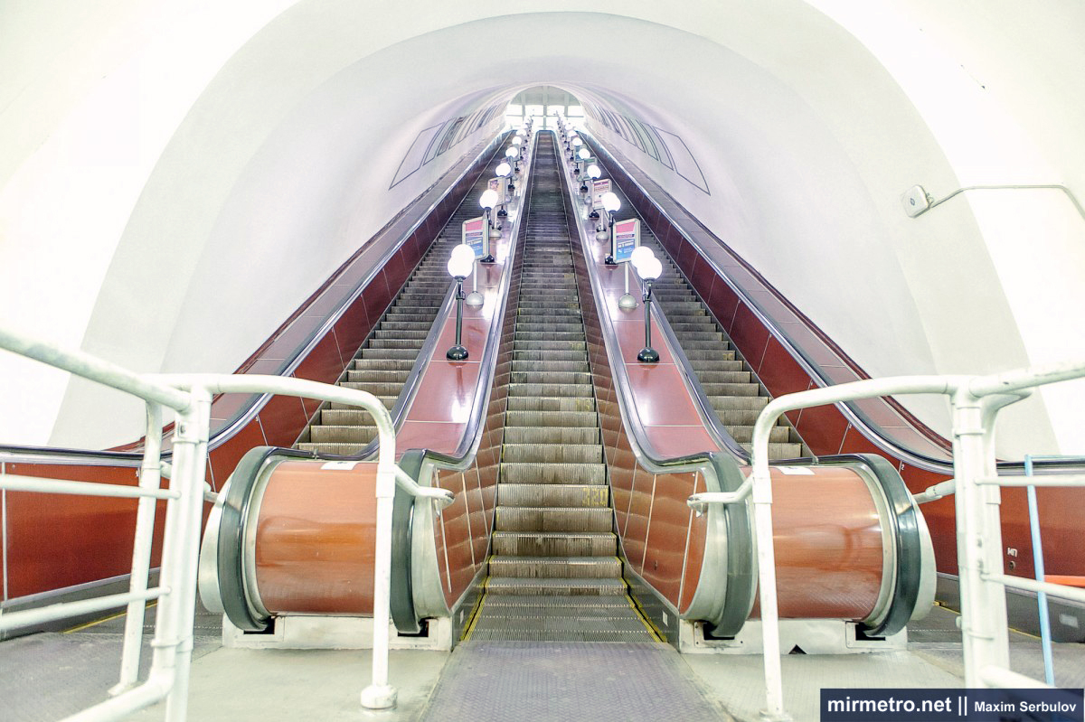 эскалатор станции метро пушкинская харьков
