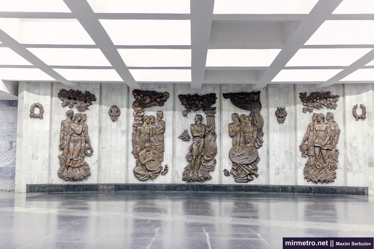 вестибюль станции метро пушкинская харьков