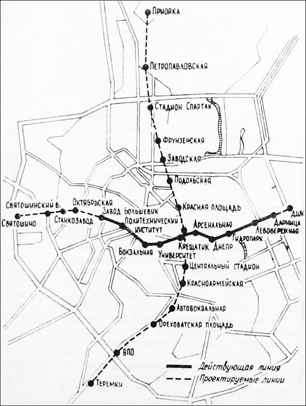 Схема 1965 года