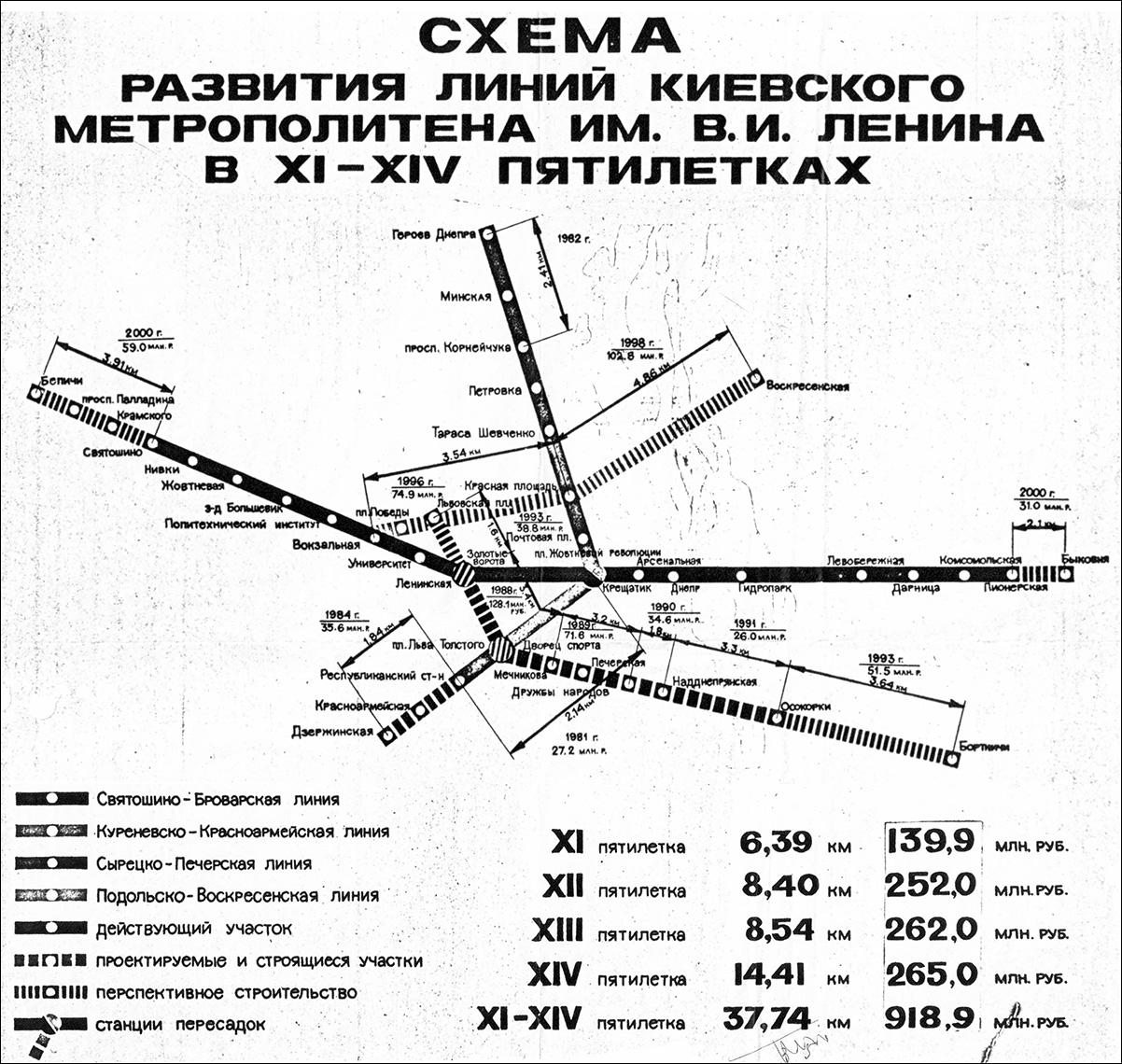 первая схема метро москва фото