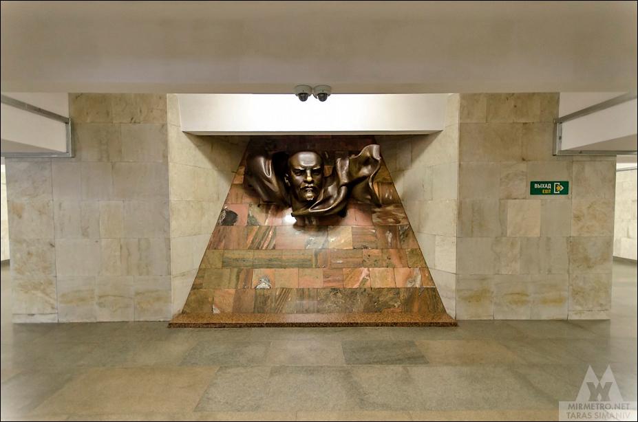 станция площадь ленина скульптуры минск