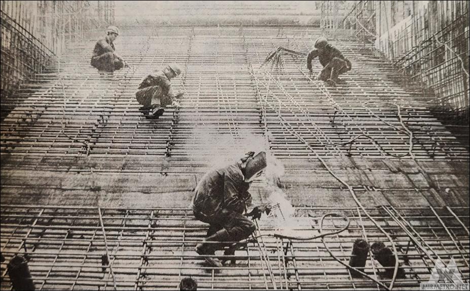 станция метро октябрьская строительство