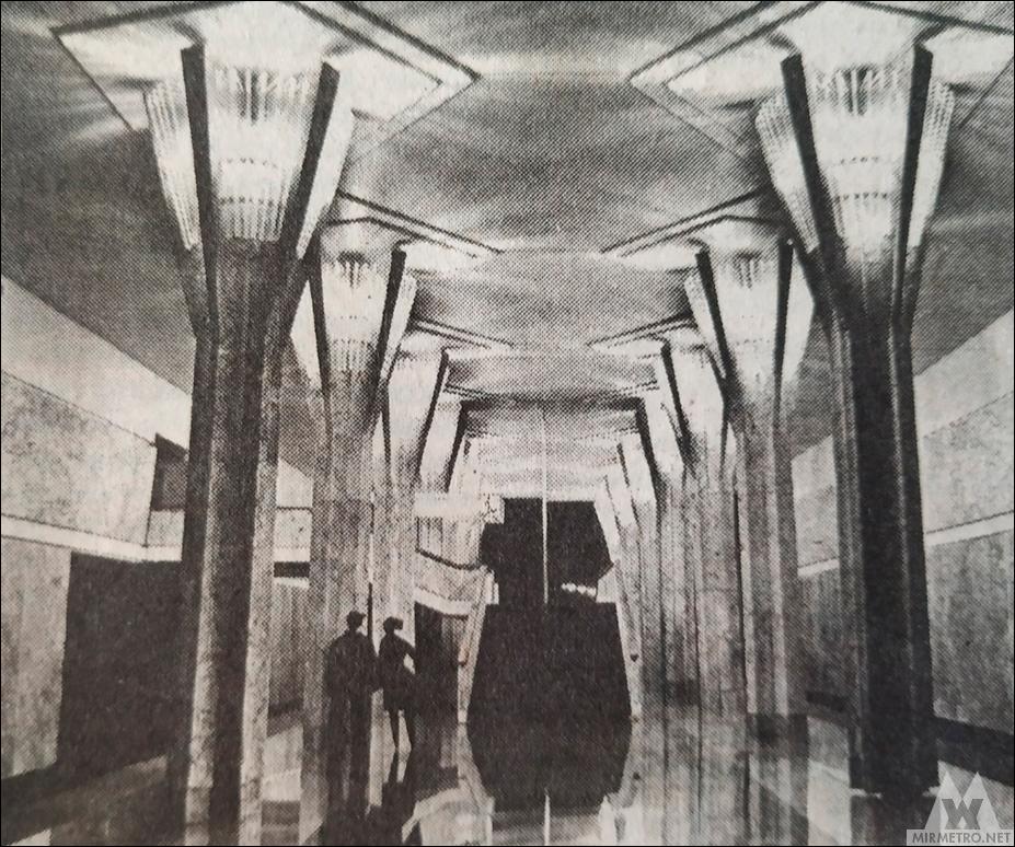 станция метро октябрьская проект