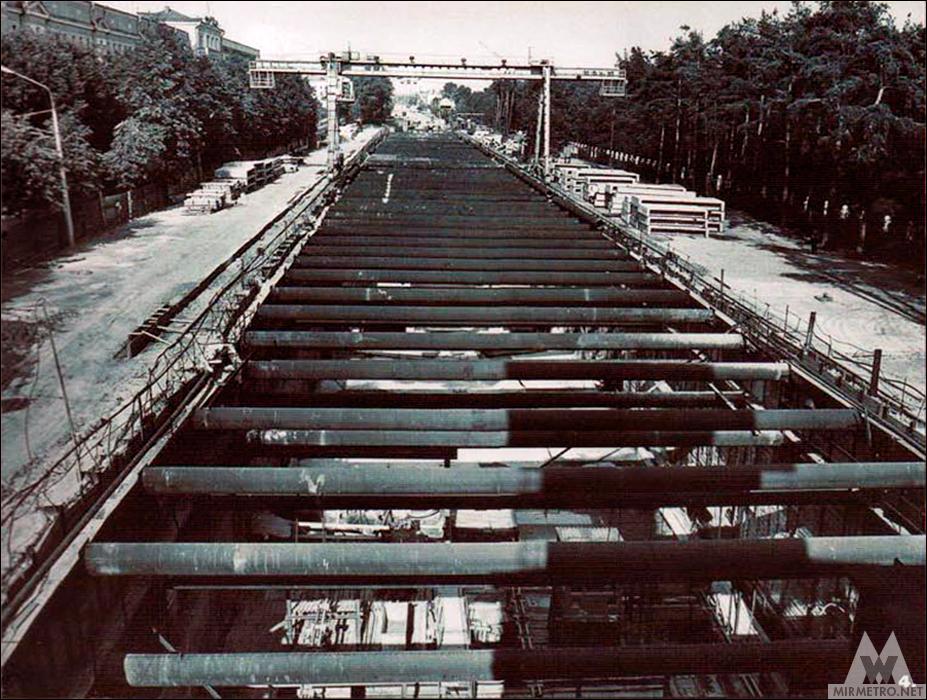 станция парк челюскинцев строительство