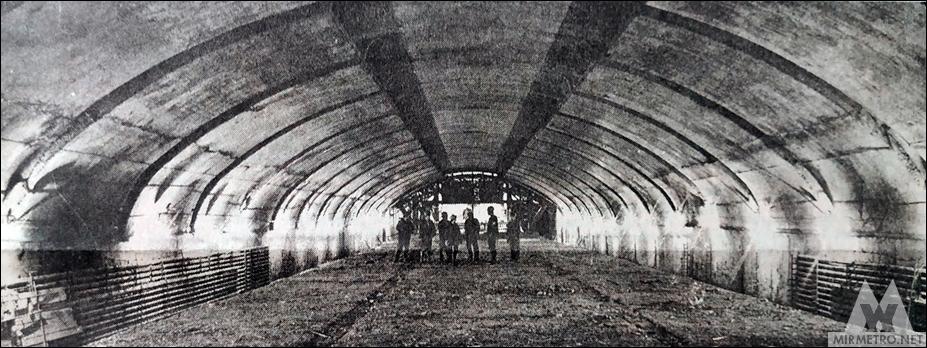 Станция метро Парк Челюскинцев строительство