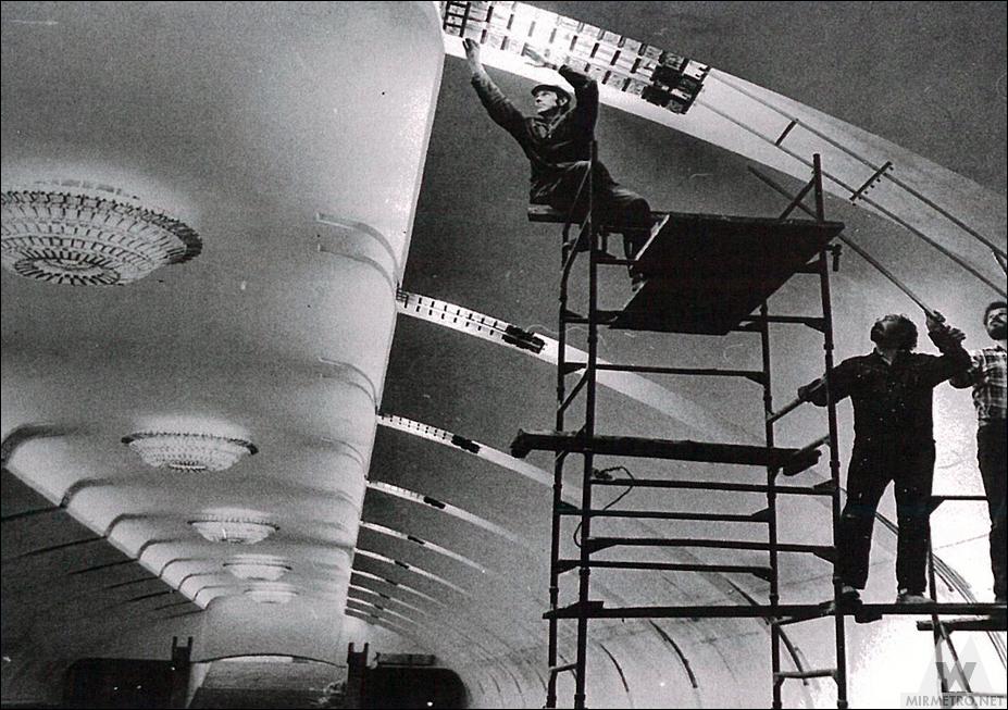 Станция метро Парк Челюскинцев минск строительство