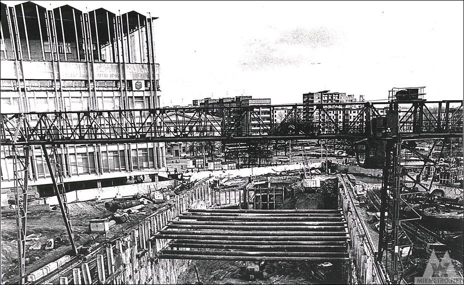 станция партизанская минск строительство