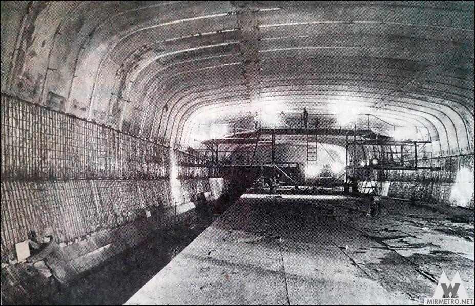 станция метро тракторный завод минск строительство