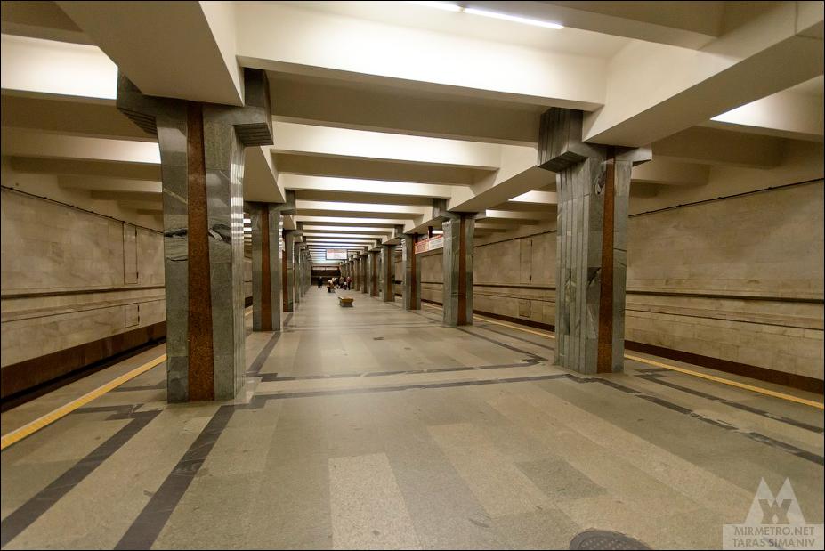 станция метро пролетарская минск