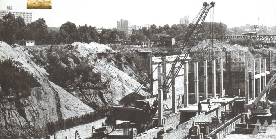станция первомайская минск строительство