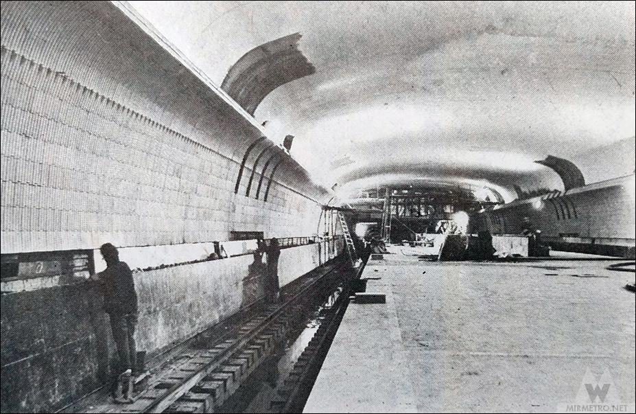 станция метро купаловская строительство