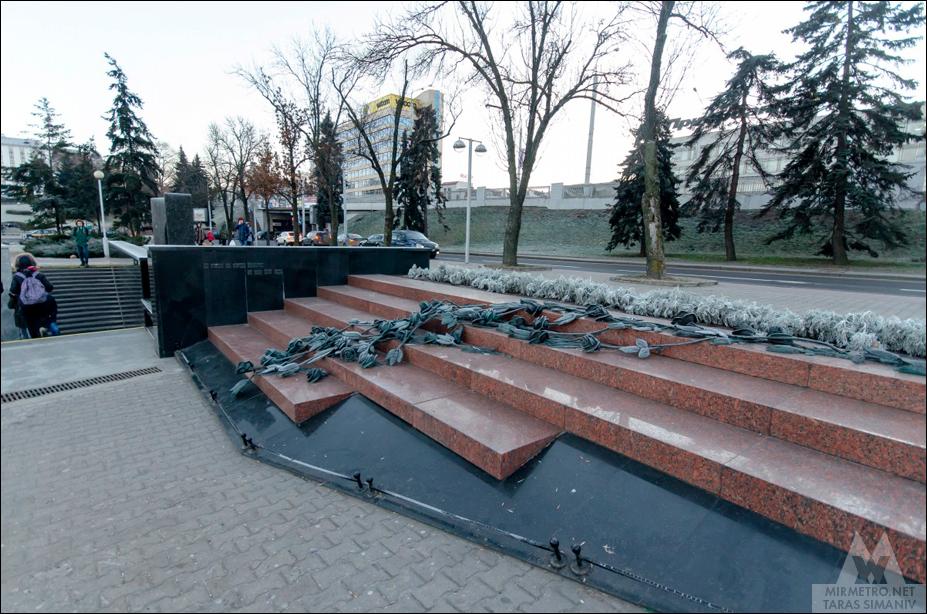 станция метро немига монумент