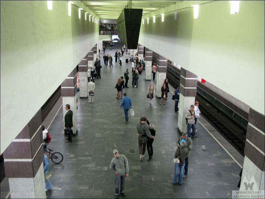 станция метро немига старое фото