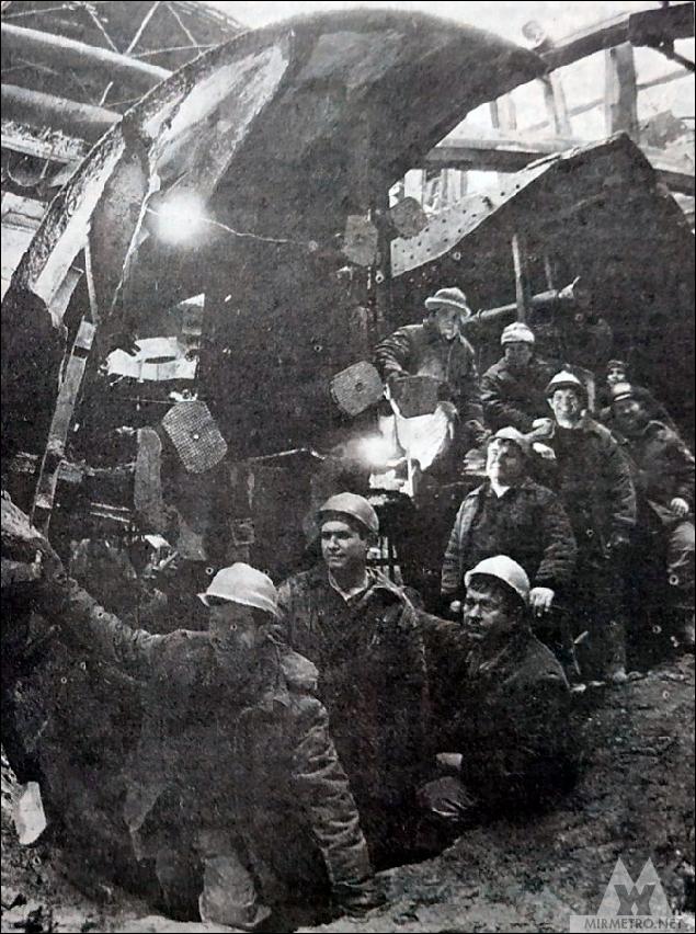 станция метро немига строительство