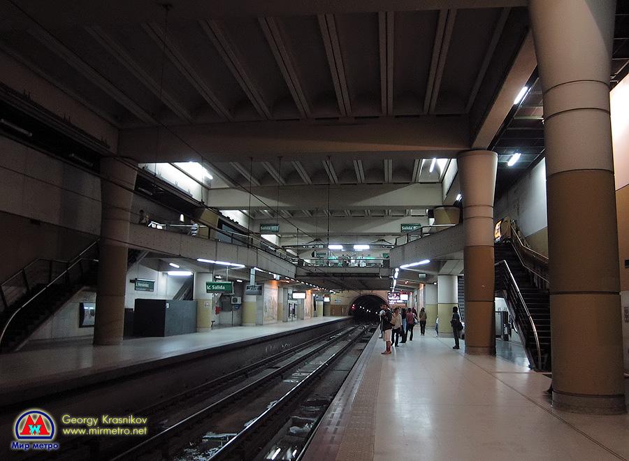 Станция Hernandez. Построена по современному типовому проекту