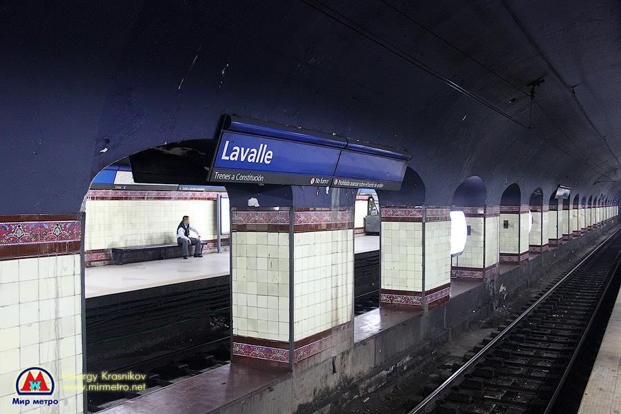 Станция Lavalle